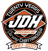 JDH Company Commercial Roofing Installation Celebrating 20 Years of Successful Business in the Chattanooga Area in 2017.
