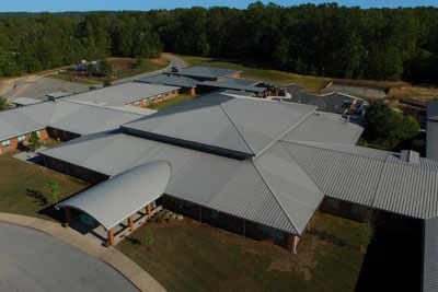 JDH Company is proud to have installed the metal roof systems on the Nolan Elementary expansion project.